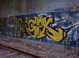 Graffiti, Arte de Rua